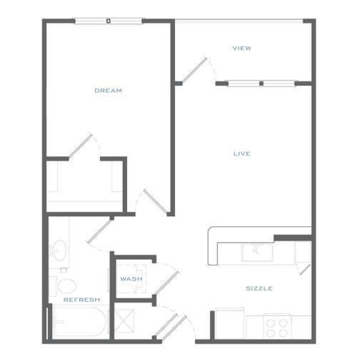 A1c Floor Plan