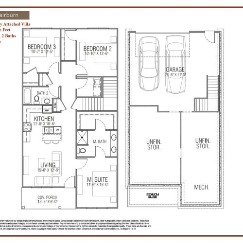Fairburn Floor Plan