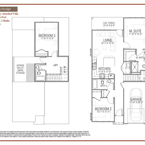 Rutledge floor plan