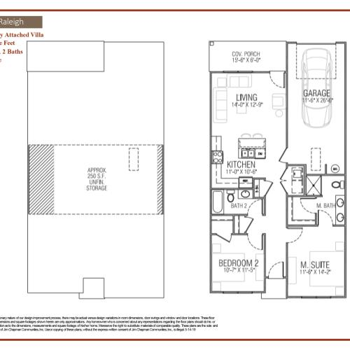 Raleigh Floor Plan