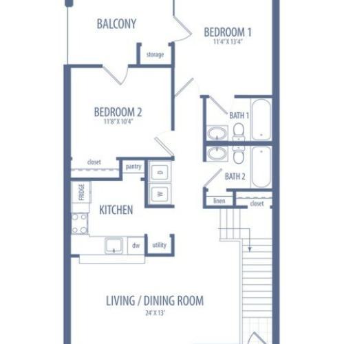 Dogwood - B2 Floorplan