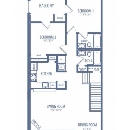 Gardenia - B3 Floorplan