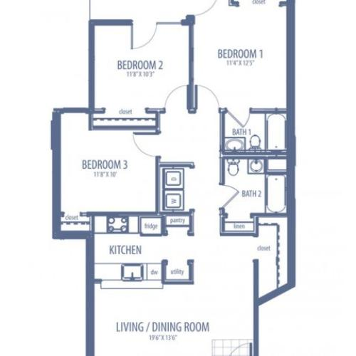Magnolia - C1 Floorplan