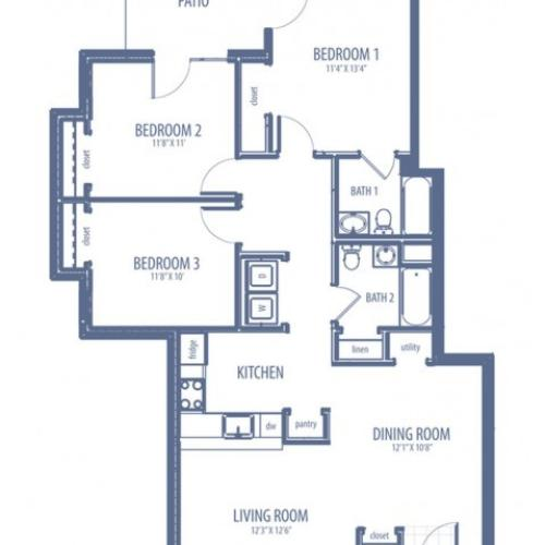 Camelia - C2 Floorplan