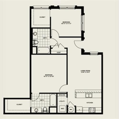 B14 Floor Plan