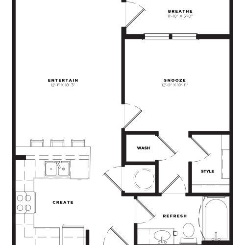 A1 Alt1 Floor Plan