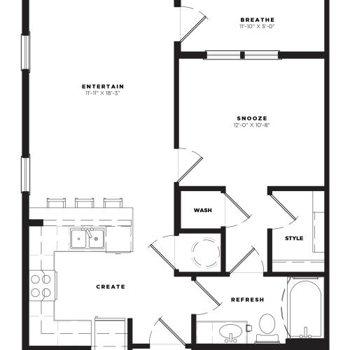 A1 Alt 2 Floor Plan