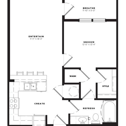 A1 Alt 3 Floor Plan