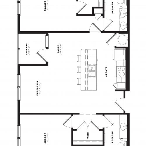 B2 Alt 3 Floor Plan