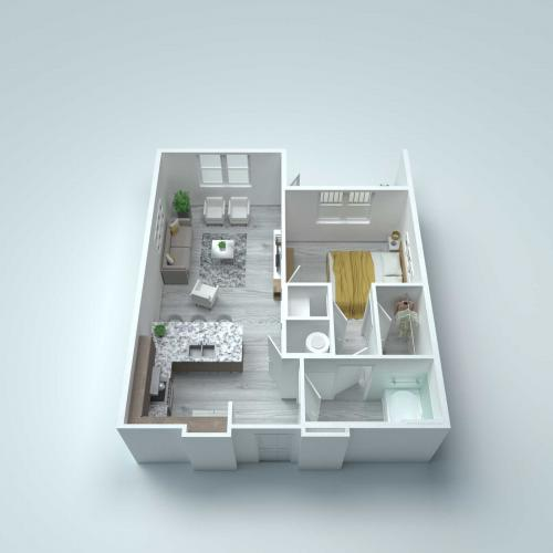 A1 Type A Floor Plan