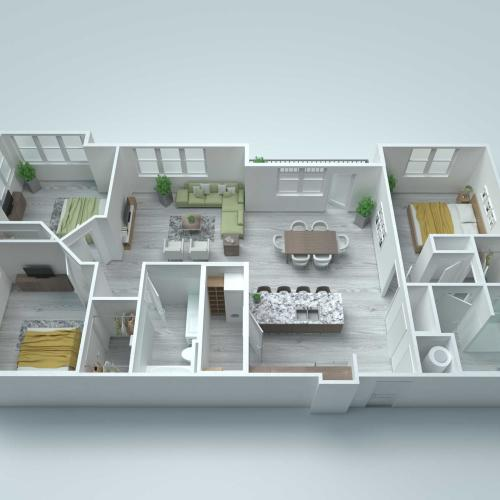 C3 Alt2 Floor Plan