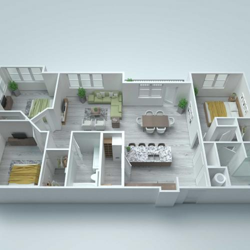 C3 Alt3 Floor Plan