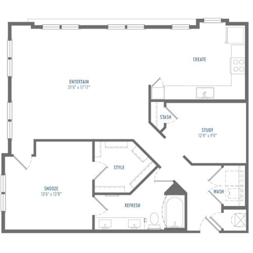 A4 Alt 1 Floor Plan