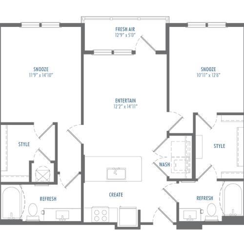 B2 Type A Floor Plan