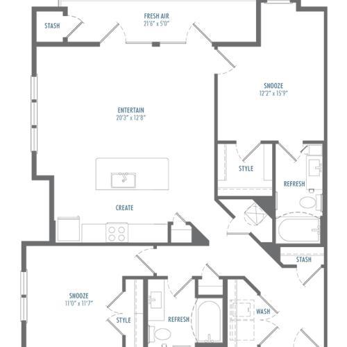 B5 Alt 1 Floor Plan