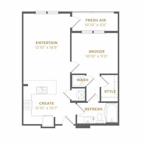 Phase II - A1 Alt 2 Floor Plan