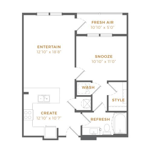 Phase II - A1 Type A Floor Plan