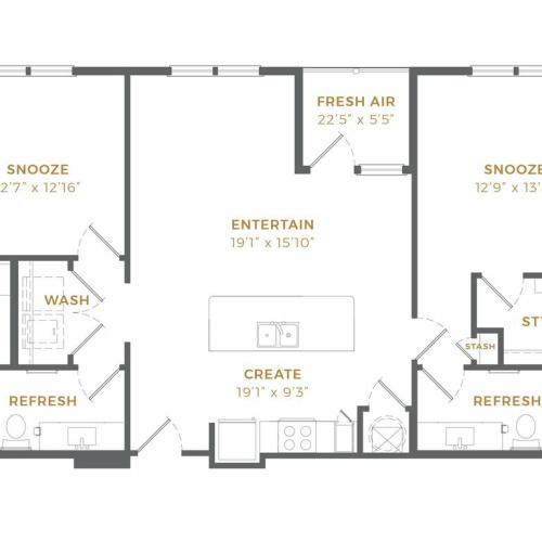 Phase II - B1 Alt 4 Floor Plan