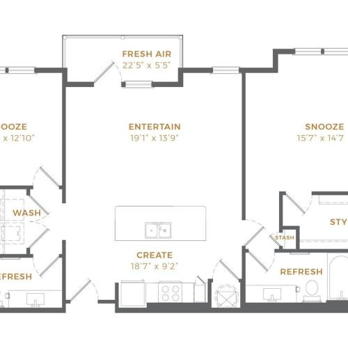 Phase II - B1 Alt 6 Floor Plan