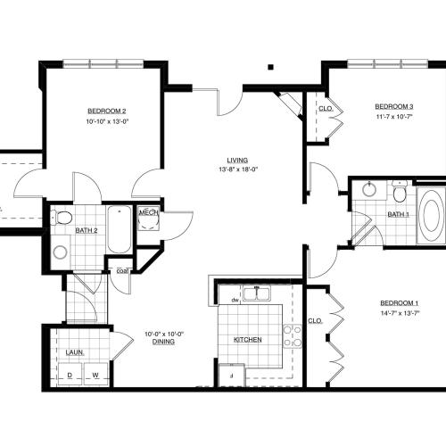 Chestnut Floor Plan Image