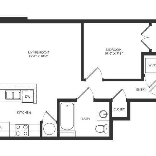 A2b Floor Plan