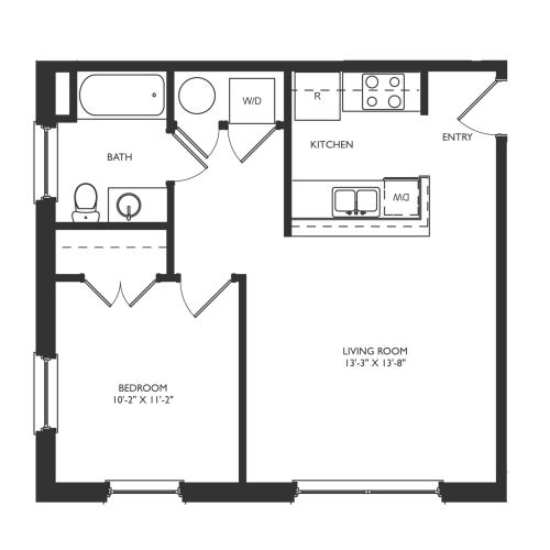 A4 Floor Plan Image