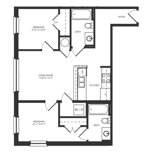 B2a Floor Plan Image
