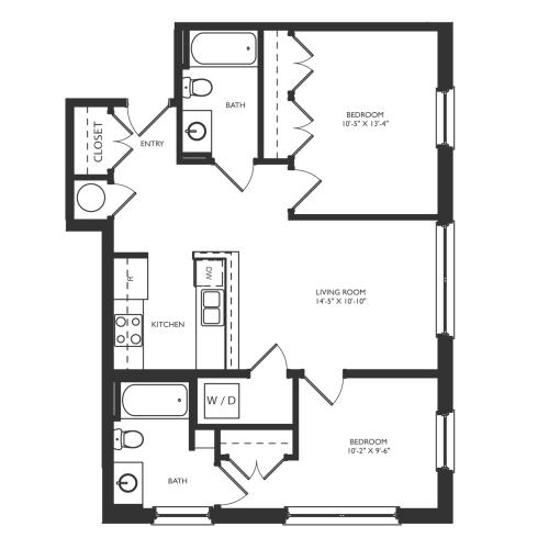 B2b Floor Plan Image