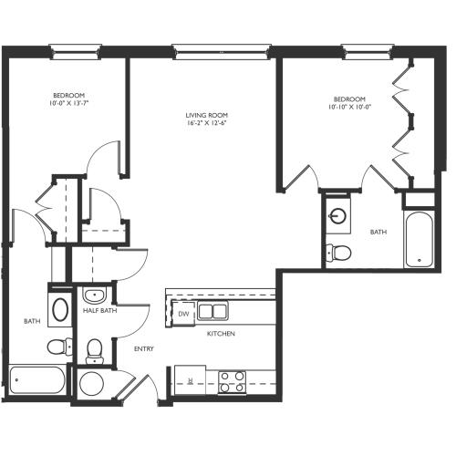 B3 Floor Plan Images
