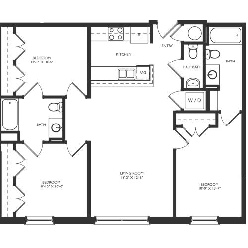 C2 Floor Plan Image