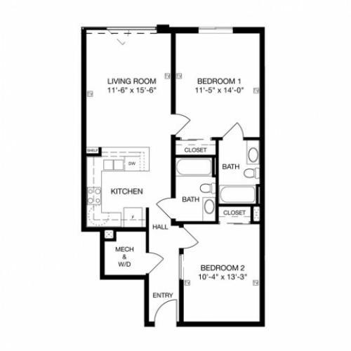 B3 Floor Plan Image