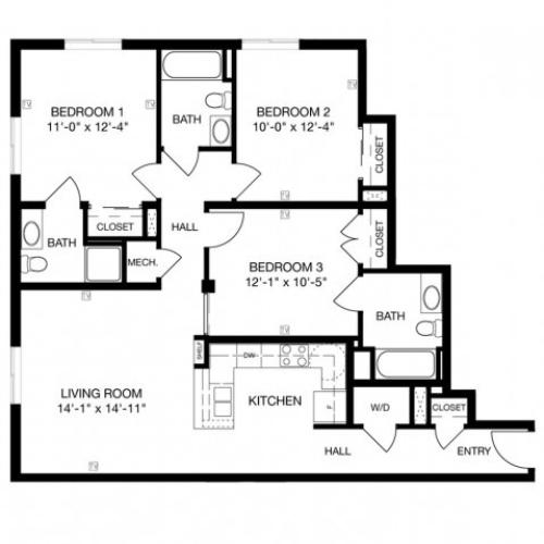 C3 Floor Plan Image