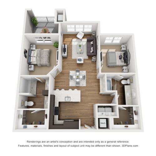 B2A Floor Plan Image
