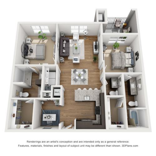 B7D Floor Plan Image