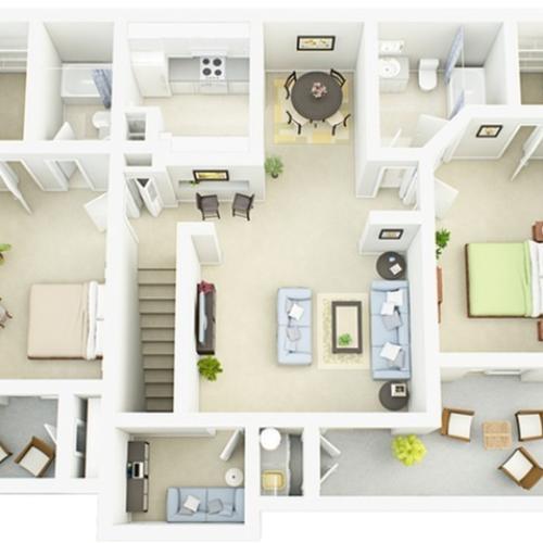 B2R Floor Plan