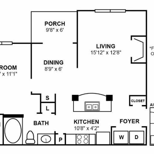 A1R Floor Plan Image