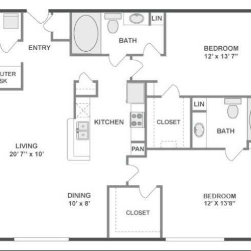Melody Floor Plan Image