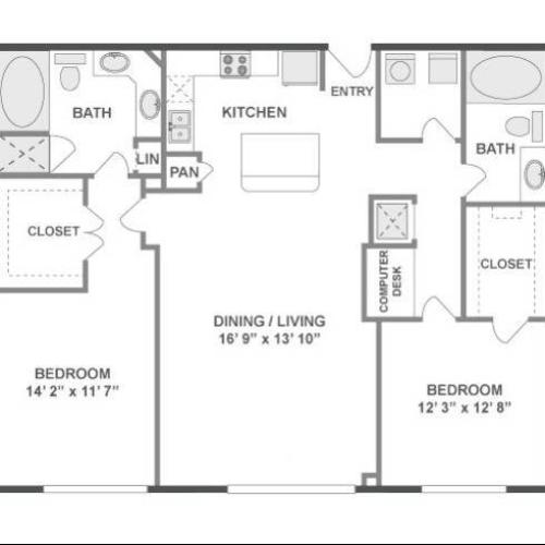 Bounce Floor Plan Image