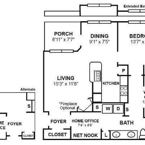 A3R2 Floor Plan Image