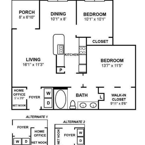 B2R Floor Plan Image