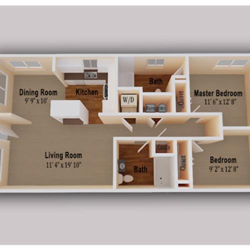 Glen Burnie Apartments: 2 Bed / 2 Bath Apartment In Glen Burnie MD