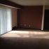 Sugar Plum Apartments Traverse City Michigan open large living room with sliding glass doors