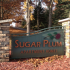 Sugar Plum Apartments Traverse City Michigan Welcoming entrance sign
