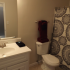 Ornate Bathroom | Apartments in Columbus | Havenwood Townhomes
