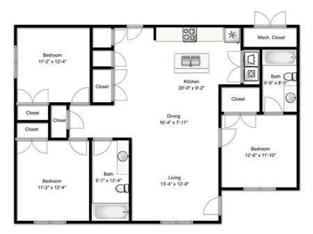 3 Bedroom Renovated Apartment
